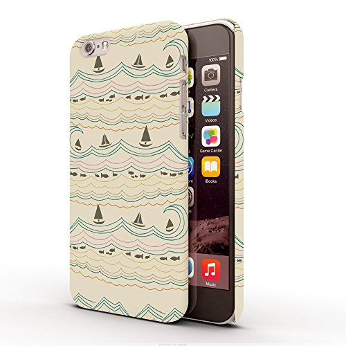 Koveru Back Cover Case for Apple iPhone 6 - Rivers on Song