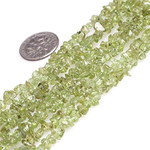 Peridot Chip Beads - 3