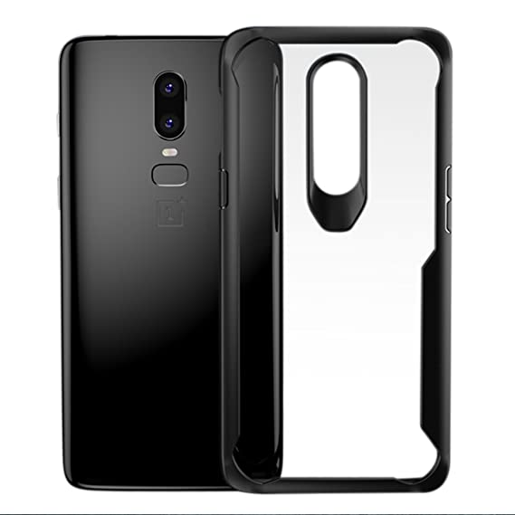 3c4d4244dc Image Unavailable. Image not available for. Color: OnePlus 6 case, Cresee  Ultra Slim Clear Case with Premium Flexible Bumper and Transparent TPU