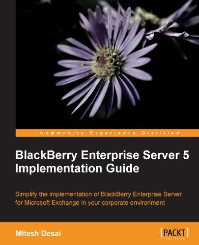 Download BlackBerry Enterprise Server 5 Implementation Guide Pdf