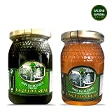 La Celda Real - 1000g/35.27Oz - Honey Pack 2 flavors: Forest Honey + Polyflora Honey - Glass Jar - Floral Aroma and Rich and Sweet Flavor - 100% Pure - Origin Spain