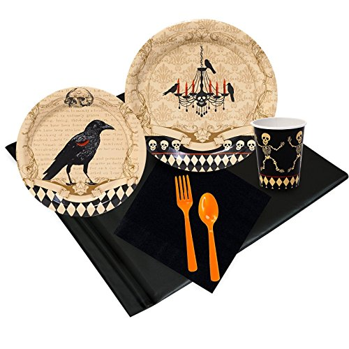 Halloween Party Skull Mansion Party Pack (Scary Halloween Party Snacks)