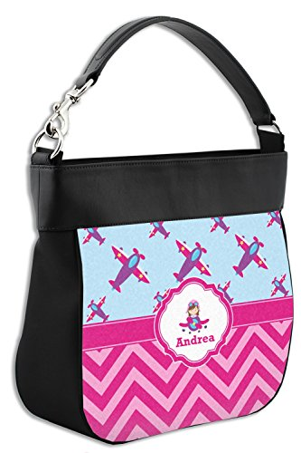 Genuine Airplane Girls Trim Front w Purse Leather for Hobo Personalized Theme wfqrZxfYa