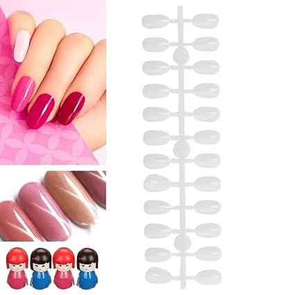 Tarjeta de color de uñas, 240 piezas Puntas de uñas falsas ...