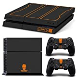 GOOOD PS4 Designer Skin Decal for PlayStation 4 Console System and PS4 Wireless Dualshock Controller - Call of Duty: Black Ops 3 Limited Edition Skin