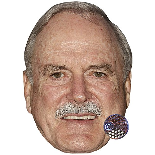 John Cleese Celebrity Mask, Card Face and Fancy Dress Mask -