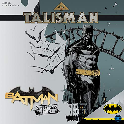 Talisman Batman Super-Villians Edition Competitive Board Game | Based on the Talisman Magical Quest Game | Official Batman Licensed Merchandise | The Joker, Harley Quinn, Mr. Freeze, Bane, The Penguin (The Joker With Harley Quinn)