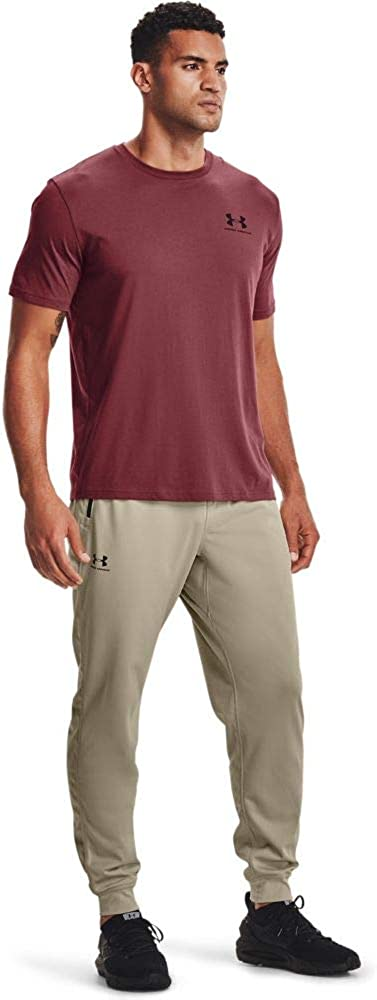 Under Fresno Mall Armour Men's Joggers Sportstyle Tricot Mesa Mall