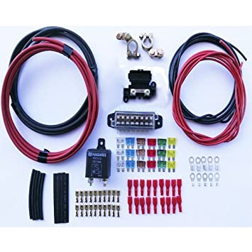 Kit for installation of auxiliary battery with relay automatic kit for installation of auxiliary battery with relay automatic nagares in camper vans 4 x cheapraybanclubmaster Gallery