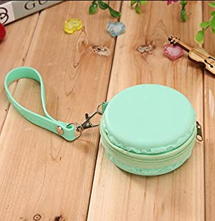 Amazon.com: ChezMax Macaron Shape Wallet Portable Change ...