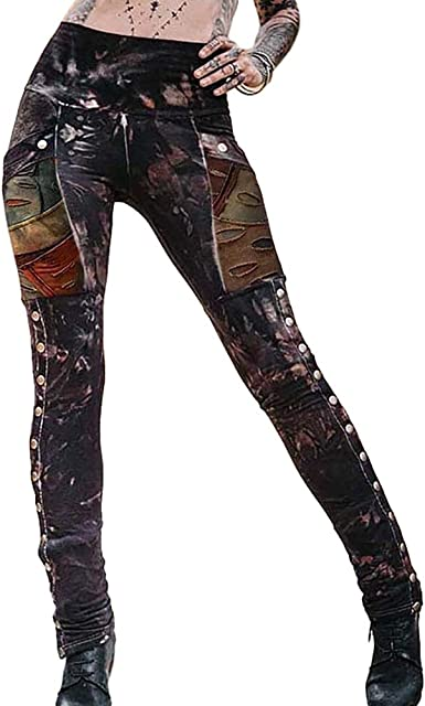 Todaies Women Lace Plus Size Leggings Skinny Pants Yoga Sport Pants Trousers