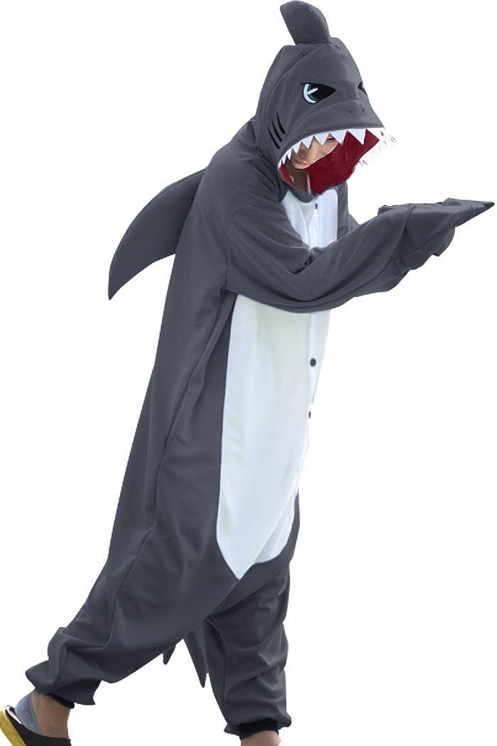 WOTOGOLD Animal Cosplay Costume New Shark Adult Pajamas
