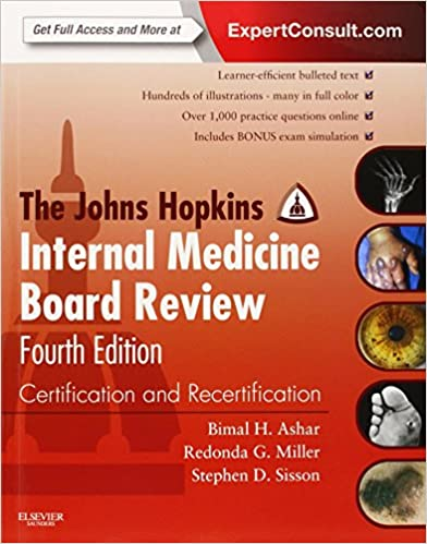 The Johns Hopkins Internal Medicine Board Review: Certification ...