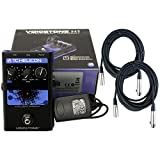 TC-Helicon VoiceTone H1 Vocal Harmony Effect Pedal w/Power Supply, 2 Free 20' XLR Cables