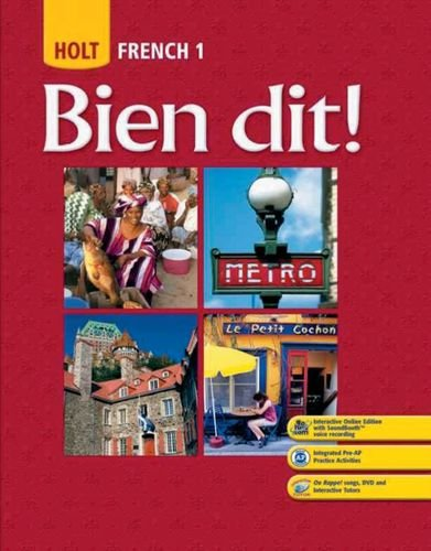 Pdf Teen Bien dit!: Student Edition Level 1 2008