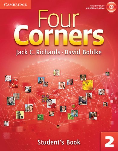 Four Corners Level 2 Full Contact with Self-study CD-ROM: Four Corners Student's Book 2 [With CDROM]