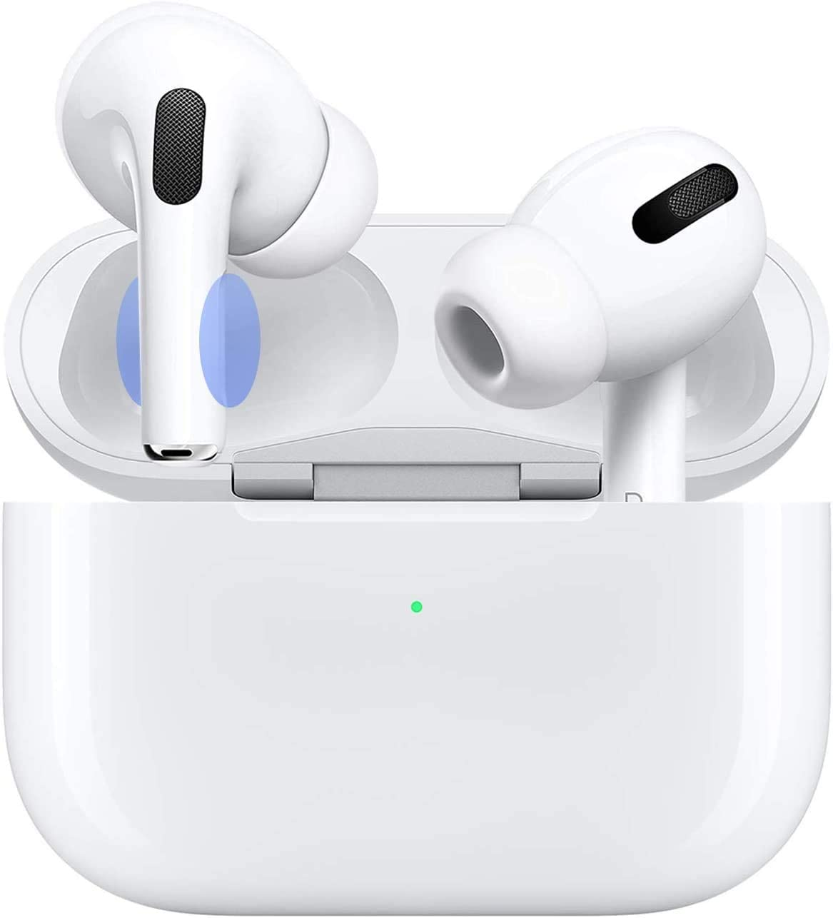 Wireless iPhone Earbuds with ?24Hrs Charging Case? Noise Cancelling Headphones IPX5 Waterproof 3D Stereo Pop-ups Auto Pairing Fast Charging Premium Sound with Deep Bass for iPhone/Android/Airpods