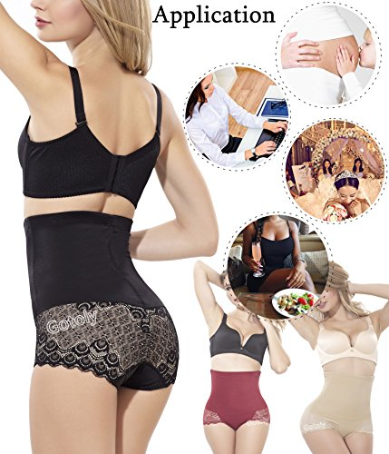 5c57ea2e9 ... Women s Sexy Butt Lift Panty Tummy Control Trimmer Shapewear Body Shaper (Large