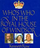 Whos Who in the Royal House Of, Outlet Book Company Staff and Random House Value Publishing Staff, 0517463245