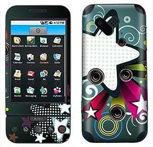 Retro Star Skin for HTC G1 Phone