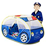 Artiron Police Car Play Tent, Indoor and Outdoor Kids Vehicle Castle Pop Up Tent Playhouse as Great...