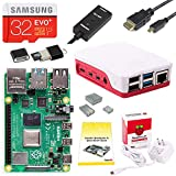 CanaKit Raspberry Pi 4 Starter Kit (32GB EVO+ Edition, Official Case) - 2GB RAM