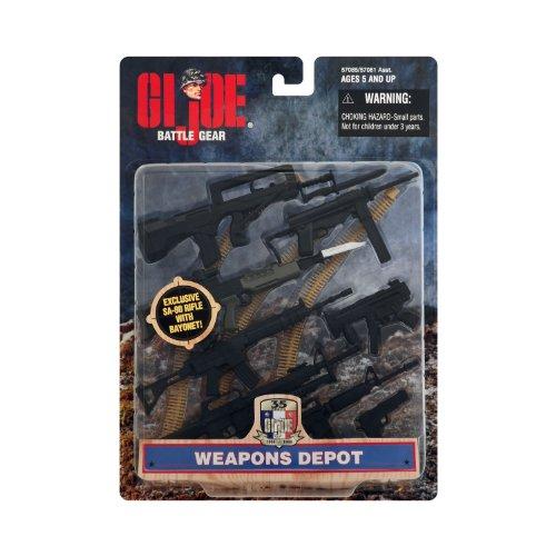 G.I. Joe Weapons Depot 35th Anniversary Battle Gear Accessory (Gi Joe Accessories)