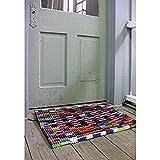 Reclaimed Flip-Flop Door Mat Rectangle Welcome Mat