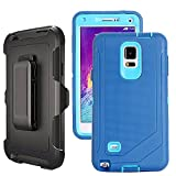 Galaxy Note 4 Case Heavy Duty,Harsel Defender Series Shockproof Dustproof Dropproof 3 Layer