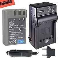 BM Premium EN-EL9, EN-EL9A Battery and Charger for Nikon Nikon D5000, D3000, D60, D40x & D40 Digital SLR Camera
