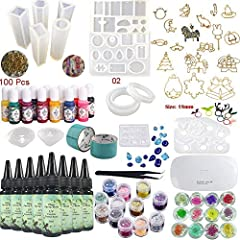 Transparent UV Epoxy Resin for Casting & CoatingMore convenient: It can be used immediately, no need to do the proportion and mix.Faster: It solidifies within 5-30 minutes (depending on the quantity) with the UV lamp (they serve as manicu...