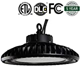 AntLux UFO LED High Bay Light - 200W (800W HID/HPS Replacement), 24000LM, 5000K Daylight White, IP65 Waterproof, Warehouse lights, Industrial Grade Area Workshop Hanging High Bay LED Lighting Fixtures