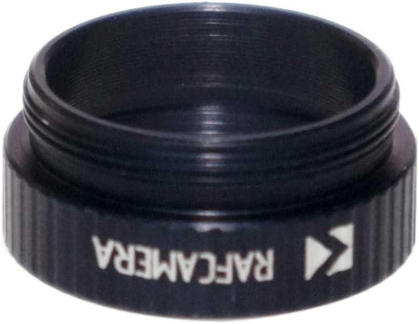 Black M26x0.75 Female Thread to C-Mount Camera Adapter