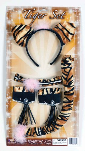 Tiger Costume Kit - Adult Std. (Tiger Costume Adults)