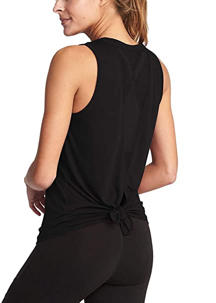 2a4e55a46ca Bestisun 2019 Fashion Yoga Mesh V Back T-Shits Sexy Yoga Tops Workout  Clothes Racerback
