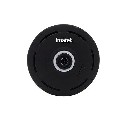 IP Cámara, IMATEK V301 El negro H.264 HD 720p Cámara de red IP
