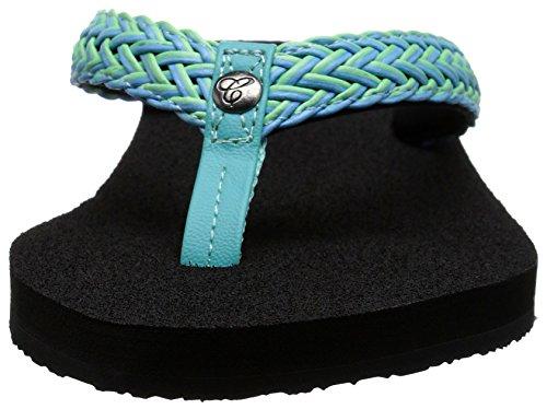 cobian Women's Lalati Flip-Flop, Aqua, 8 B(M) US