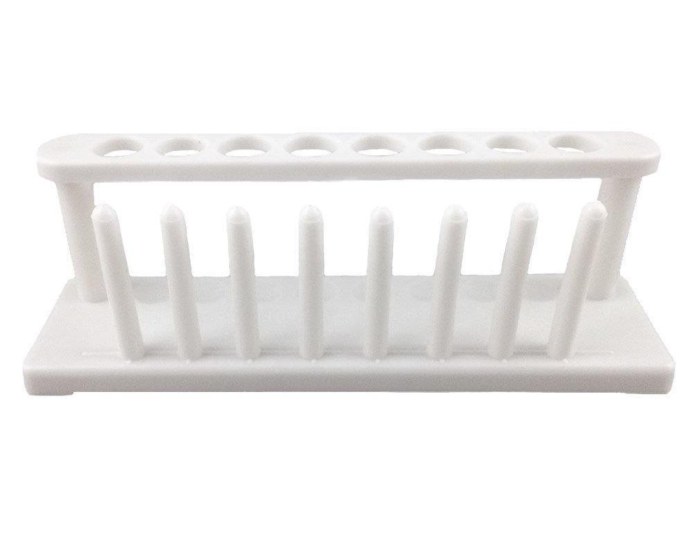 Honbay 8 Well Plastic Test Tube Rack Scientific Lab Tube School Laboratory Supplies Experiment Toy