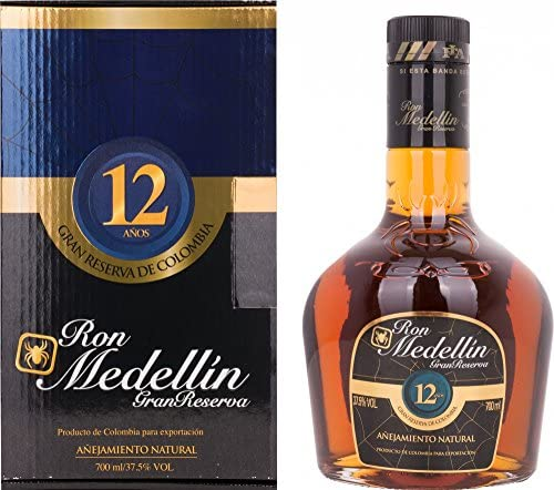 Ron Medellin añejo 12 años (1 x 0,7 l)