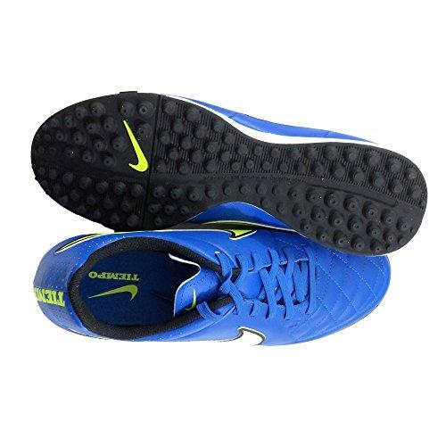 Nike Tiempo Genio TF Turf Soccer Cleat (Soar Blue) Sz. 8
