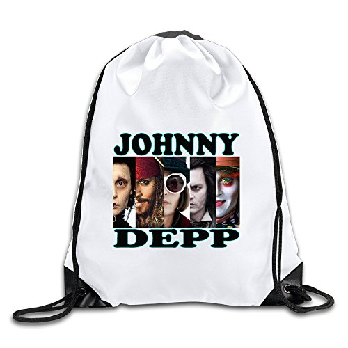 Show Time JD Character Backpack Gymsack Drawstring Sack Bag ()