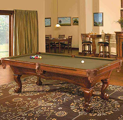 Brunswick 8 Foot Danbury Pool Table with Blue Contender for sale  Delivered anywhere in USA