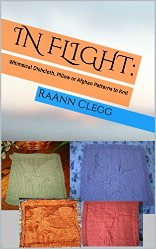 In Flight Whimsical Dishcloth Pillow Or Afghan Patterns To Knit