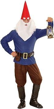 NET TOYS Original Disfraz para Caballero de Enano - Azul M (50 ...