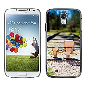 Hot Style Cell Phone PC Hard Case Cover // M00103216 tracks railroad photos // Samsung Galaxy S4 i9500
