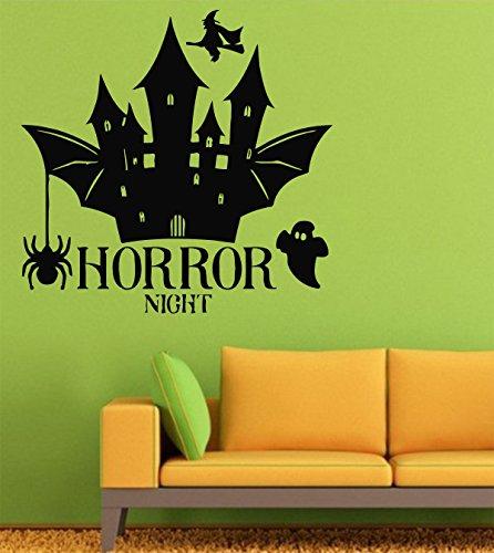 Halloween Wall Decals Decor Vinyl Stickers LM2644 -