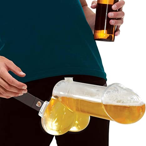 Brew Ballz - A Hilarious Strap-On Penis Beer Dispenser: Amazon.co.uk:  Health & Personal Care