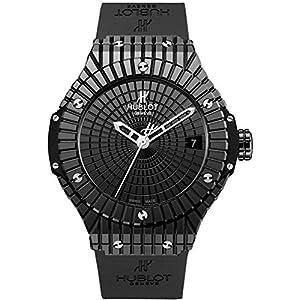 Hublot Big Bang Caviar Black Dial Automatic Mens Watch 346.CX.1800.RX