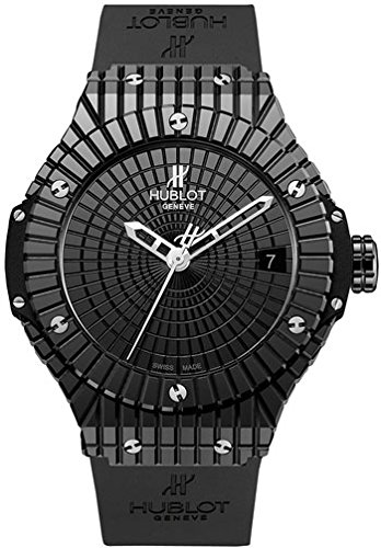 Hublot Big Bang Caviar Black Dial Automatic Mens Watch 346.CX.1800.RX