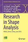 Research in Shape Analysis: WiSH2, Sirince, Turkey, June 2016 (Association for Women in Mathematics Series)